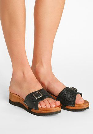 Sanita RANDI FLEX - Clogs - black 6QW3i9