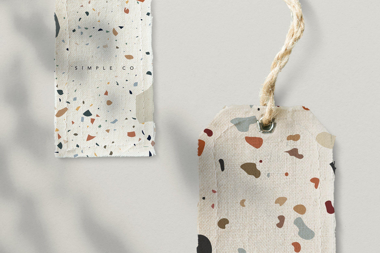Terrazzo Pittore Pattern Cosmetics mockup, Graphic