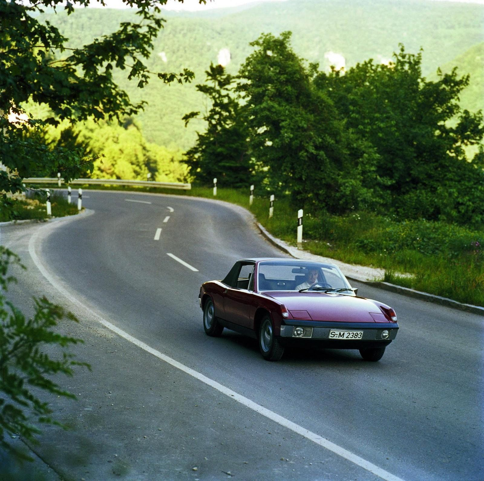 1969 - 1976 Porsche 914