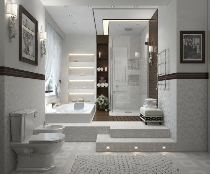 Great Contemporary Master Bathroom Basement Bathroom Design Bathroom Remodel Cost Bathroom Design Luxury