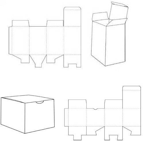 Closure Box Template  Diy    Box Templates