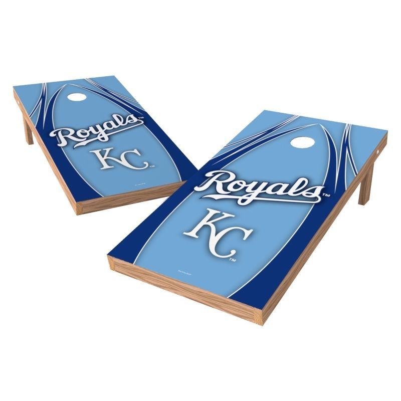 Wild Sports 2 X 4 Kansas City Royals Xl Tailgate Bean Bag Toss Shields