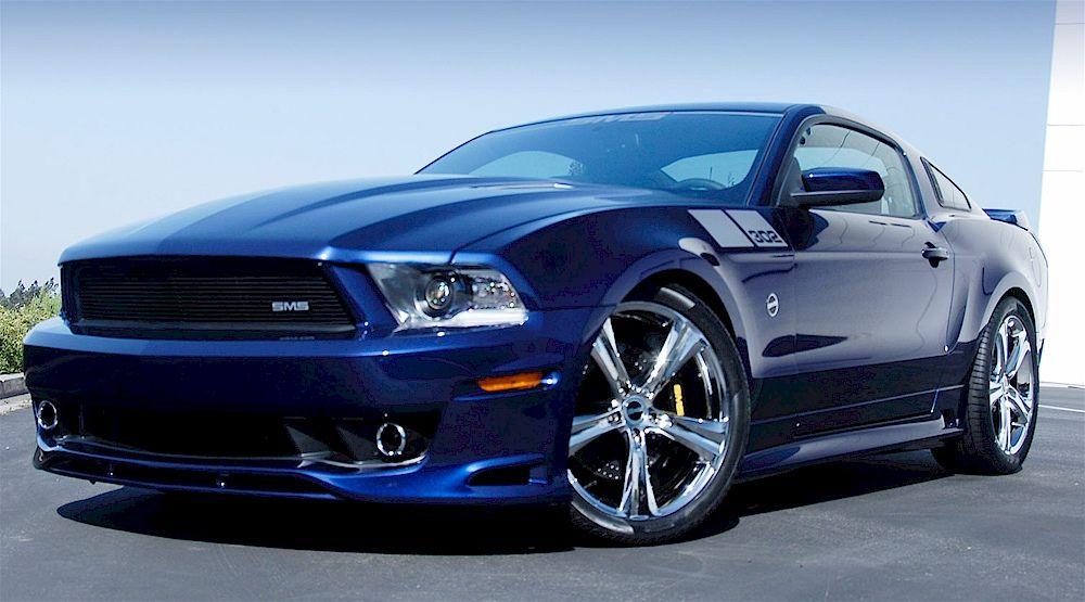Kona Blue 2012 Saleen Sms 302 Mustang Coupe Saleen Mustang Ford Mustang 2012 Ford Mustang