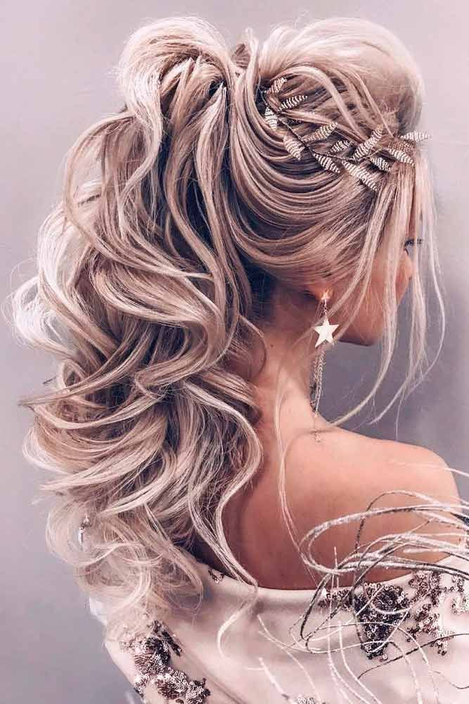 70 Romantic Wedding Hair Styles For Your Perfect Look Romantic Wedding Hair Long Hair Styles Medium Hair Styles