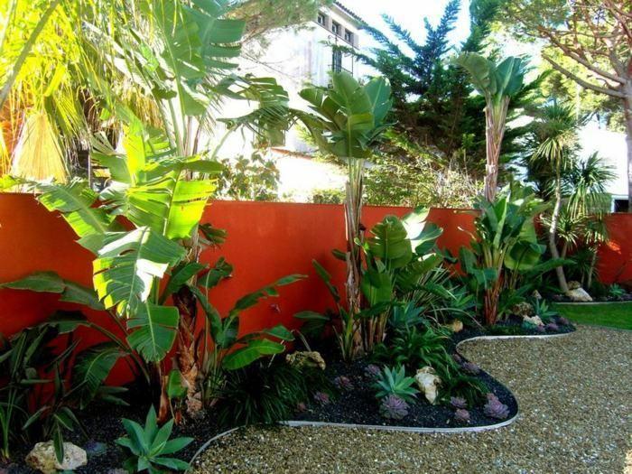 Fabuleux Aménagement jardin avec une touche d'exotisme- 50 photos  KI06
