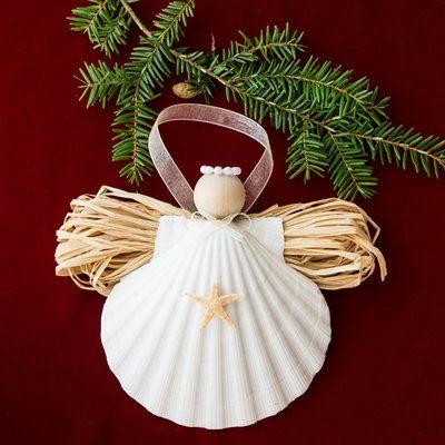Festive Christmas Crafts holidays Pinterest Ornament, Angel