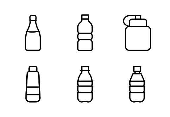 Bottle Beverage Icons By Smart Icons Bottle Beverages Icon
