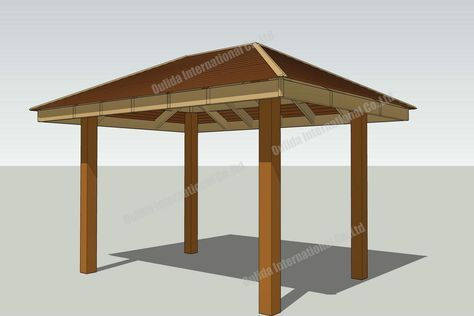 10x10 Square Gazebo Plans In 2020 Gazebo Plans Wooden Gazebo Plans Pergola