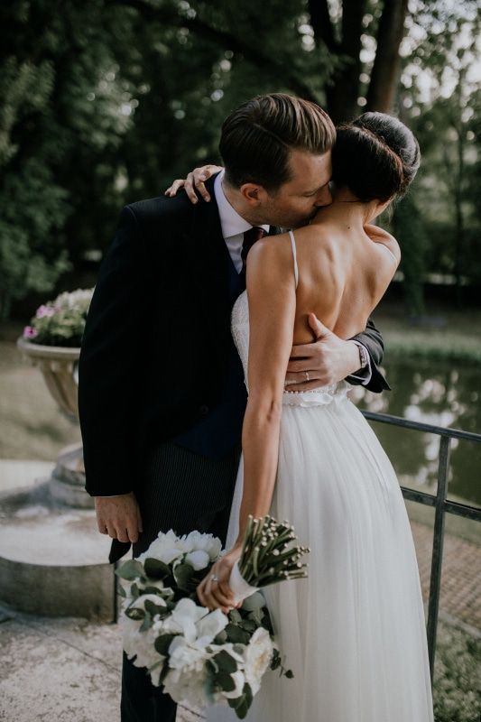 Country Wedding Dress, Elegant Wedding Dress, Long Bridal Dress Wedding Gown from joepaldress