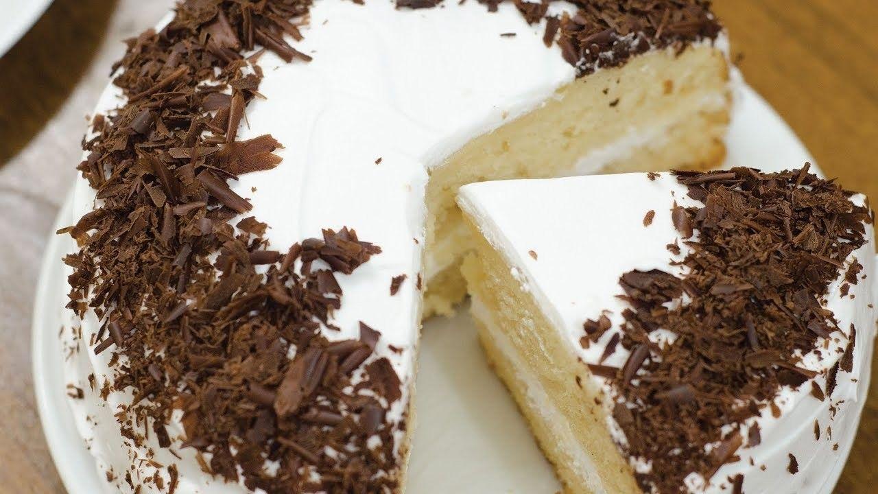 EGGLESS VANILLA CAKE I Without Oven | Sponge cake recipes ...