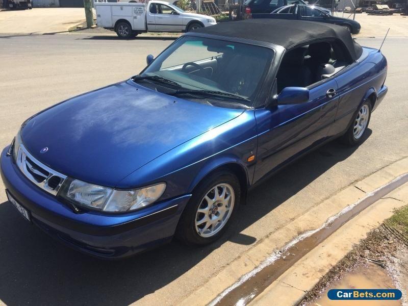 saab 93 auto 2.0 turbo convertible 1998 saab 93