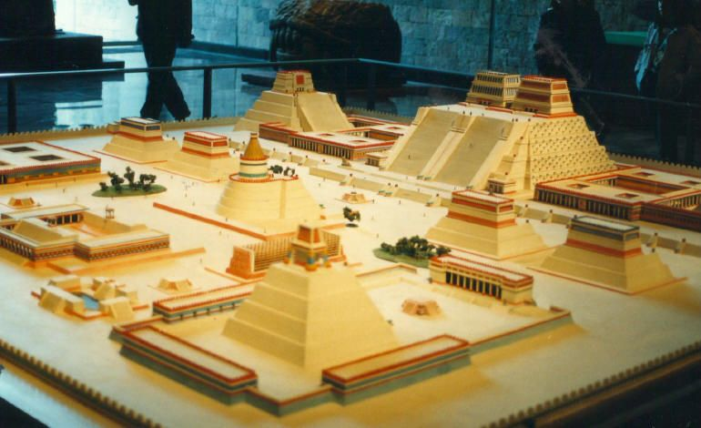 Templo Mayor Aztec City Aztec Empire City Layout