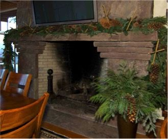 Fireplace Mantel-- www.aspenbranch.com