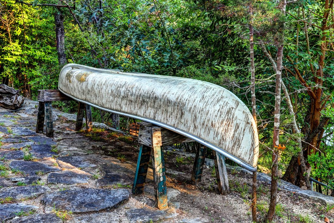 Guadalupe riverscapes guadalupe river canoe outdoor decor