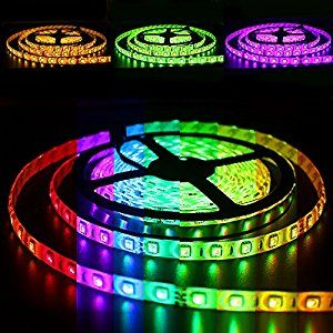 Amazonsmile Solarphy 32 8ft 10m Rgb Led Strip Light Bluetooth Smartphone App Controlled 5050 Led Light S Led Strip Lighting Strip Lighting Led Light Strips