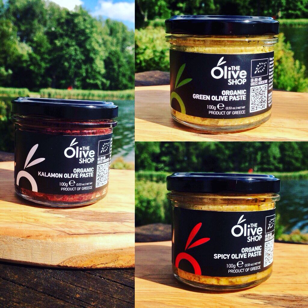 Its #OrganicFriday.Time to show off our scrumptious #OlivePastes..:))  #Organic #NaturalFlavour #Greece #Uk #Mmm #Olive #DipsSaucesDressings #TheOliveShop