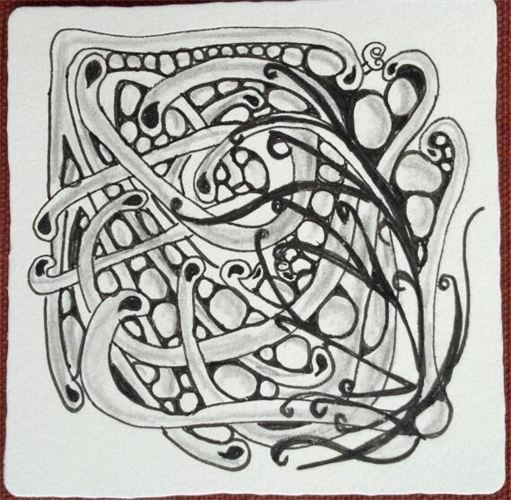 A Tangle Grows In Brooklyn - Gallery - Zentangled Inspired