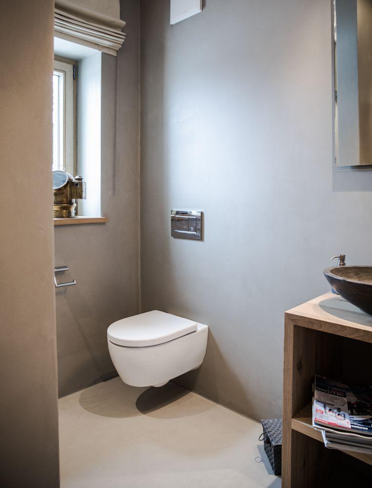 wc designboden badezimmer sichtestrich bodenbeschichtung badezimmer badezimmer g ste wc und. Black Bedroom Furniture Sets. Home Design Ideas