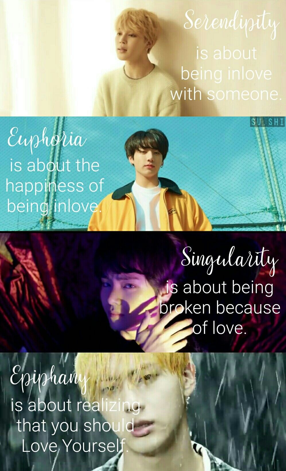 Serendipity – Euphoria – Singularity – Epiphany | BTS in 2019 | Bts