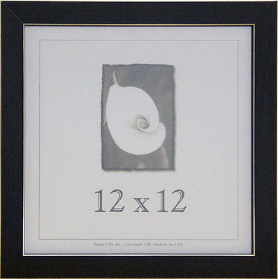 Cool 12x12 Clean Cut Wood Picture Frame Wreal Glass Available In 4