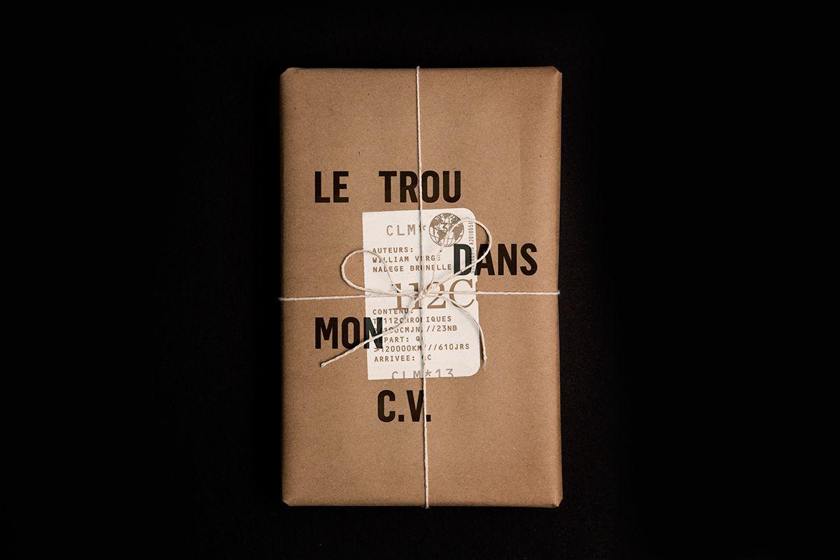 Le Trou Dans Mon C V On Behance Eco Friendly Paper Glossy Paper Packaging Design