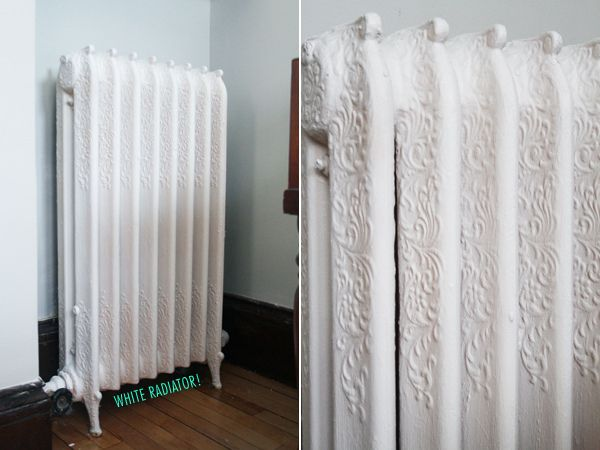 Tutorial White Radiator Home Accessories Painted
