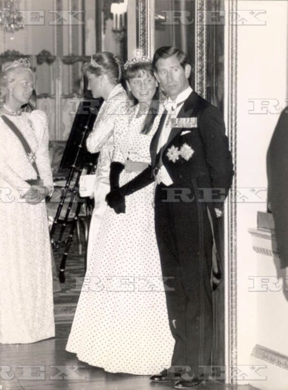 Prince Of Wales - May 1989 Prince Charles And Duchess Of York And Princess Diana And Duchess Of Kent. ...royalty