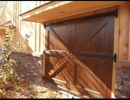 Basement Entry Ideas | Utility basement door