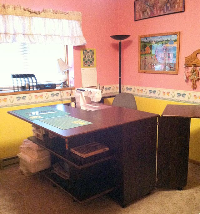 Kathy C From Crookston Mn My Studio Style Quilting Room Sewing Rooms Remodel Bedroom