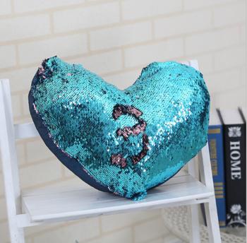 Hot Sale Magic Reversible Sequins Mermaid Decorative Pillowcase