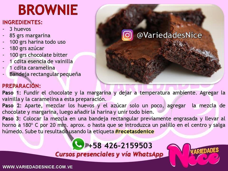 Pin By Daniela Luna Rodelo On Ideas Con Napoleón Food Desserts Brownie