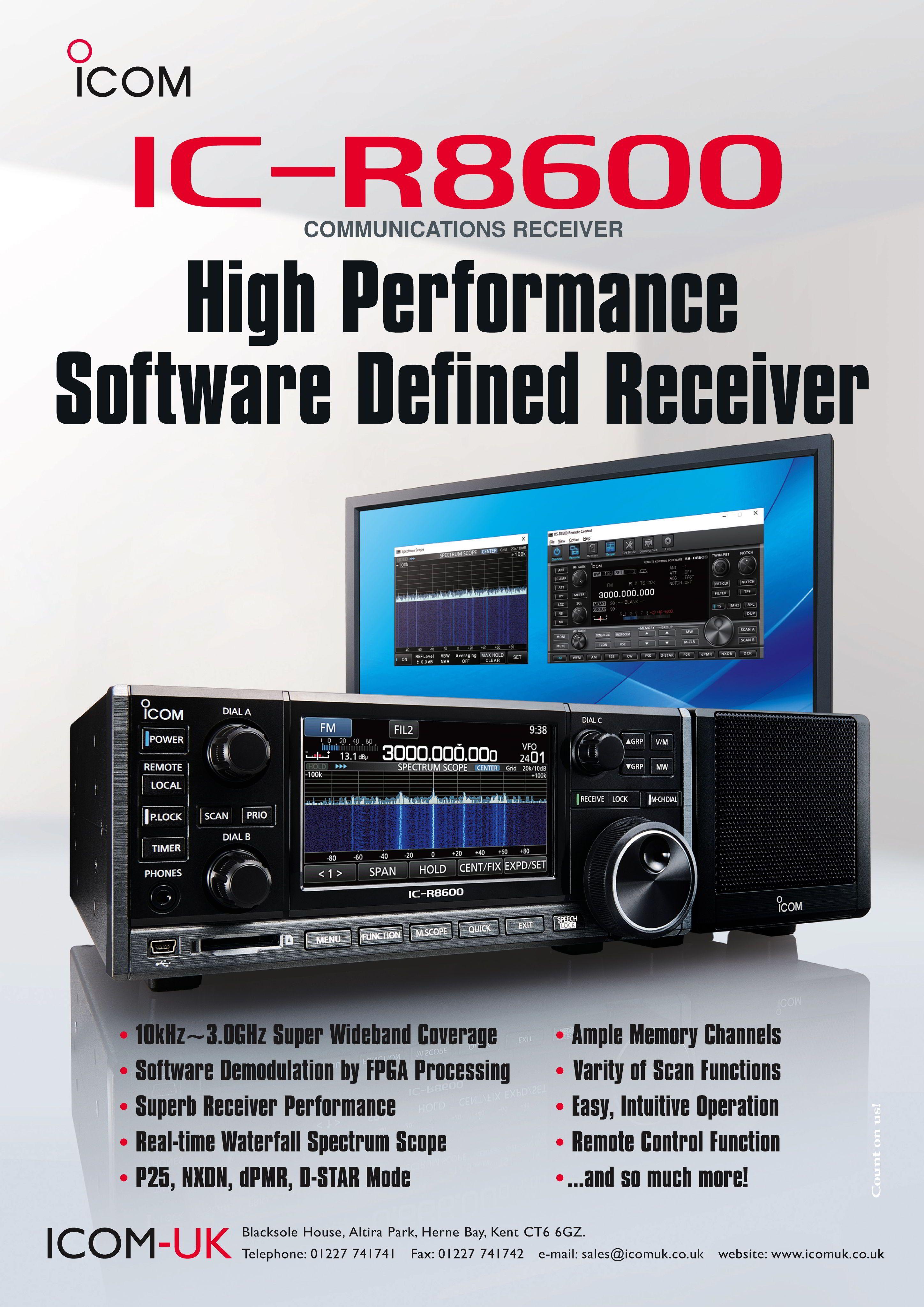 Pin by Icom on Receivers/scanners | Internet radio, Ham radio
