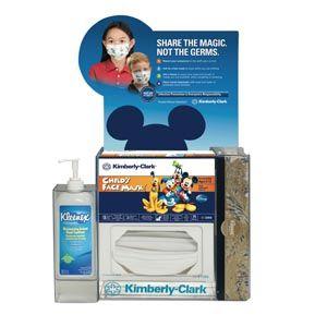 Kimberly Clark 08475 Dispenser Respiratory Etiquette Hand