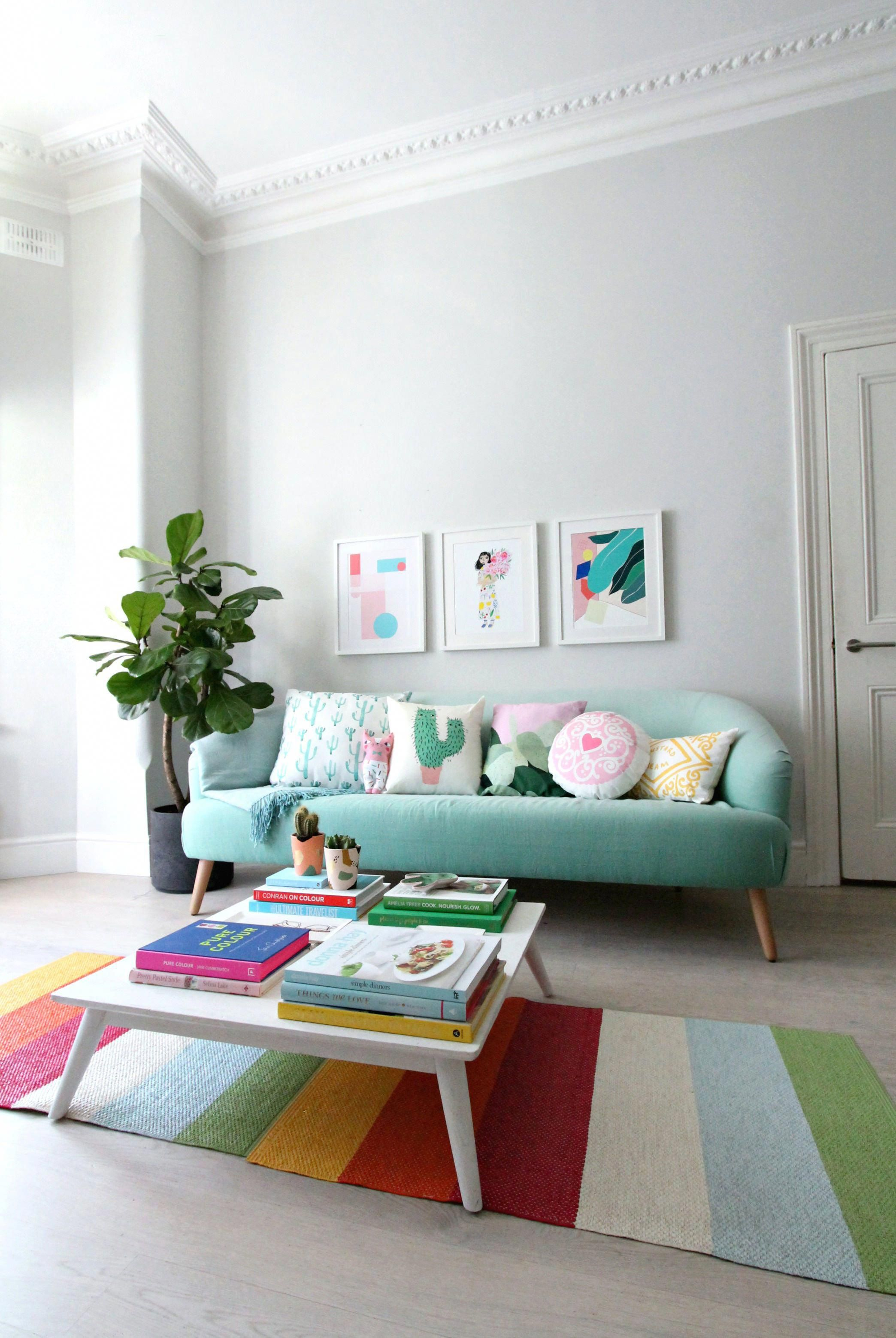 How To Create Colourful Gallery Walls With Etsy Uk I Show You How