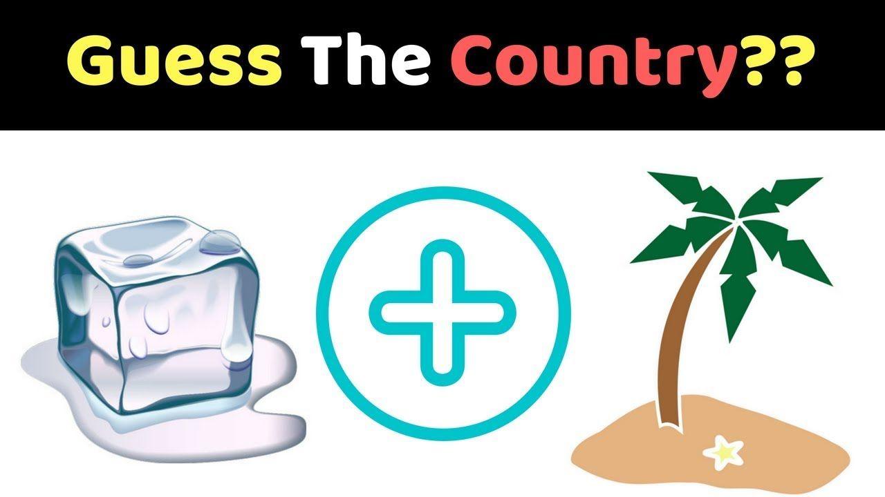 Can You Guess The Countries from Emojis?, Emoji Quiz, Emoji