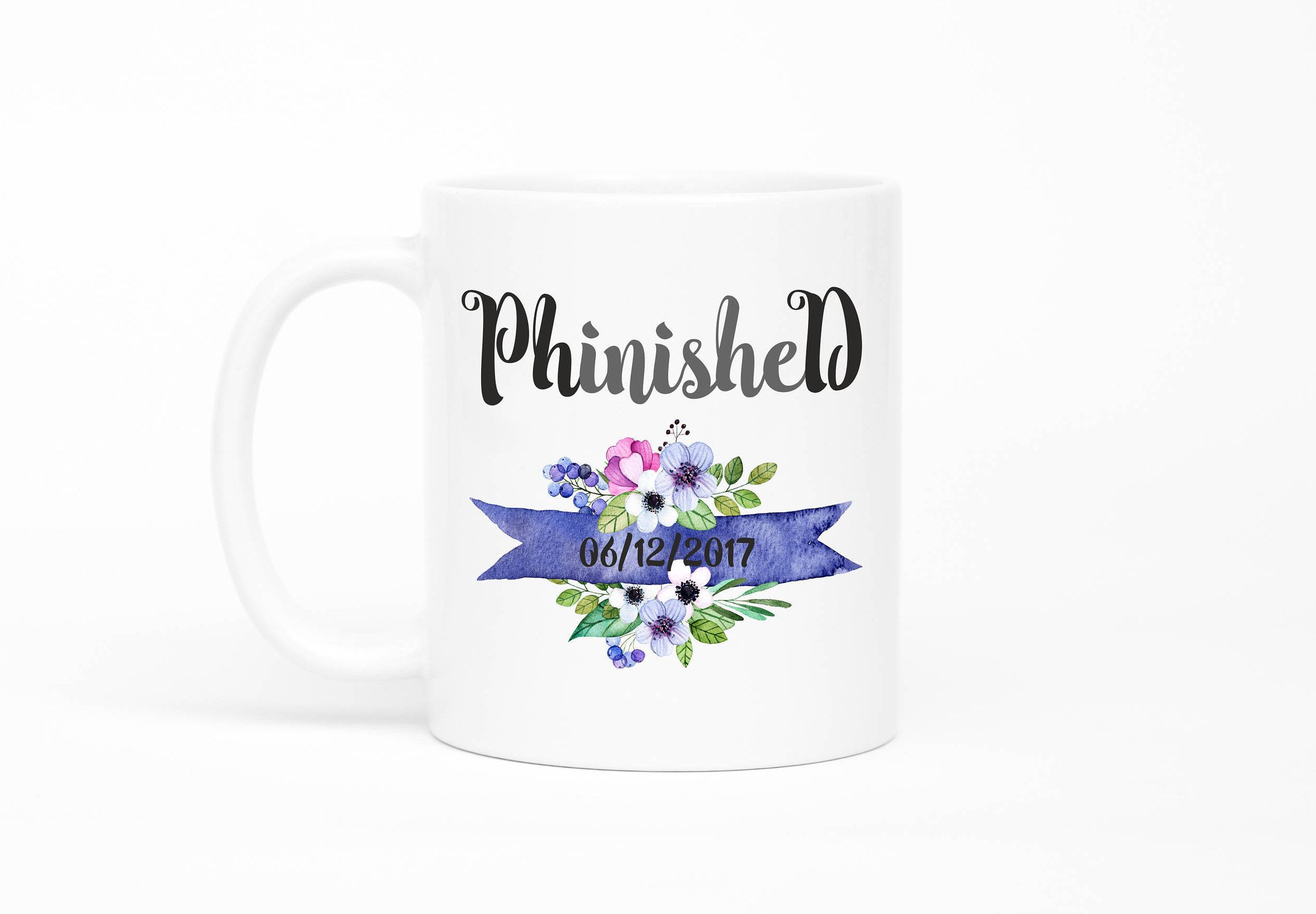 phd mugs phd gift gift for phd phd gifts graduation gift phd