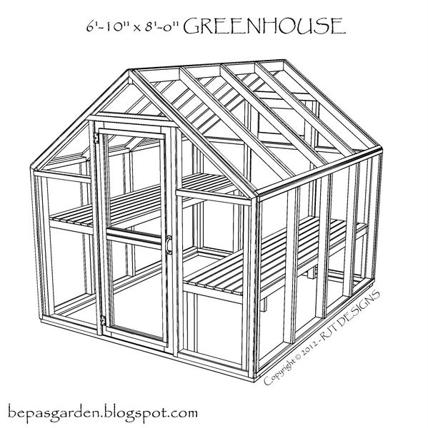 easy to build greenhouse plans