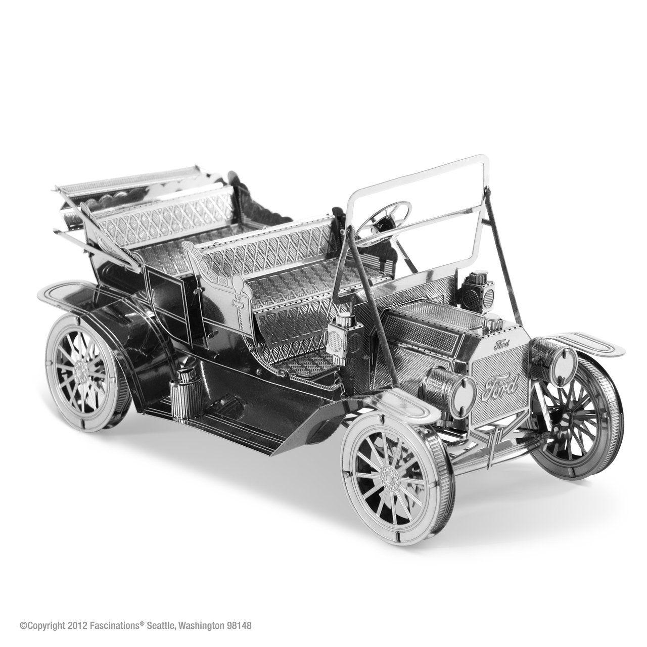 Metal Earth 3d Metal Model 1908 Ford Model T Metal Earth
