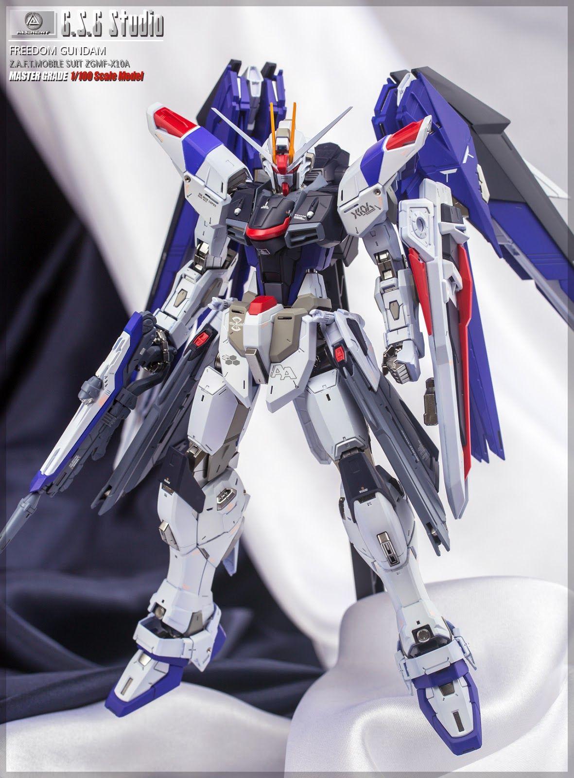 GUNDAM GUY: MG 1/100 Freedom Gundam Ver. 2.0 - Painted Build
