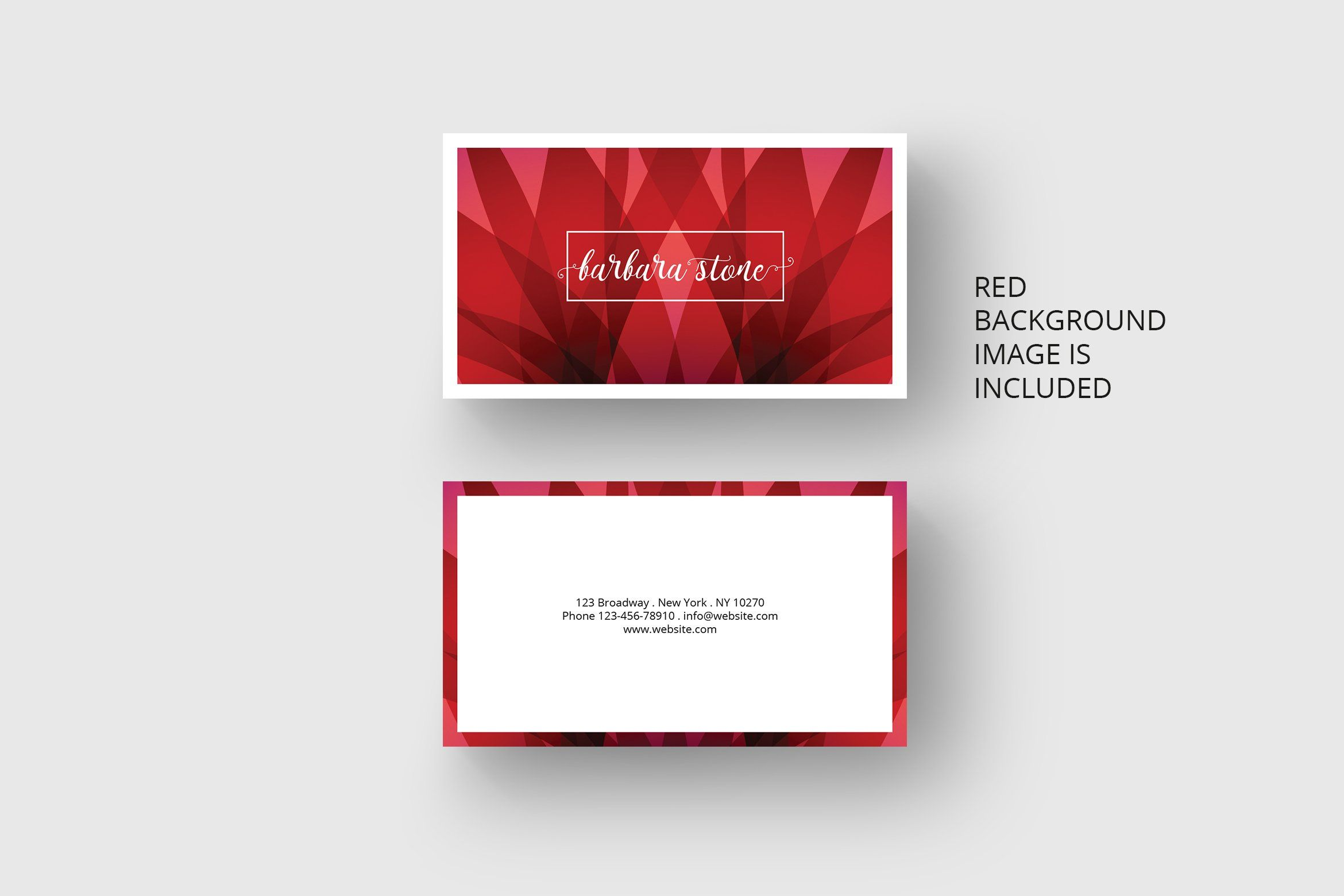 Red Business Card Template Red Business Cards Business Card Template Business Card Design