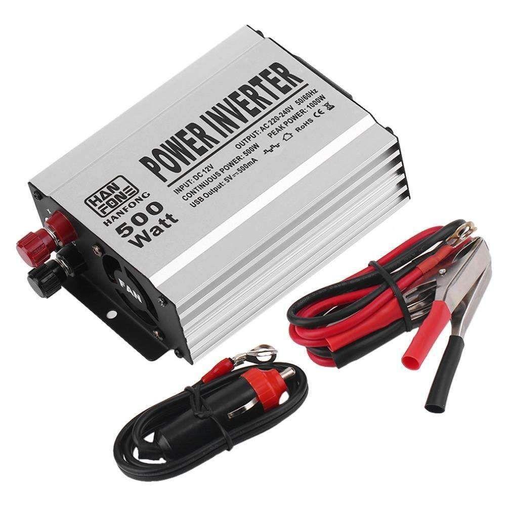 Vehicle 500w Inverter Car Power Voltage Converter 12v To Ac 220v Usb 038 5v Combo Supply Xy2 Adapter Portable