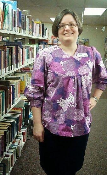 Magpie Makery: Flannel Purple Zsalya!