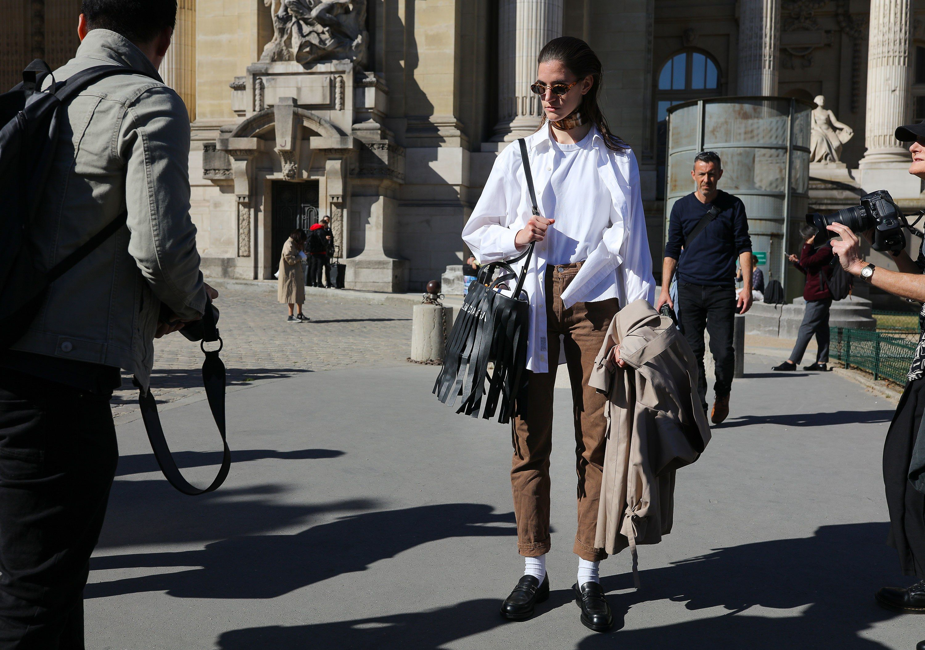 Phil Ohus Best Street Style Photos From Paris Fashion Week Spring