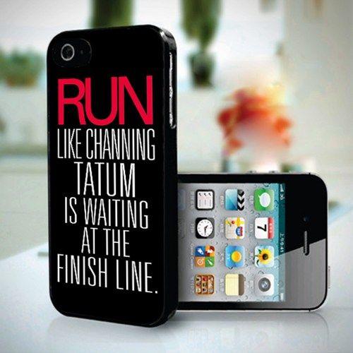 Run Like Channing Tatum Wallpaper design for iPhone 5 case