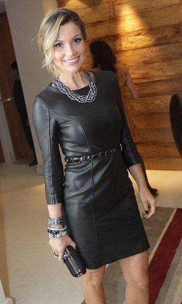 Leather dress Vetement Cuir, Mode Vetement, Tenue Casual, Tenues Noires, Cuir  Noir b432333e1596