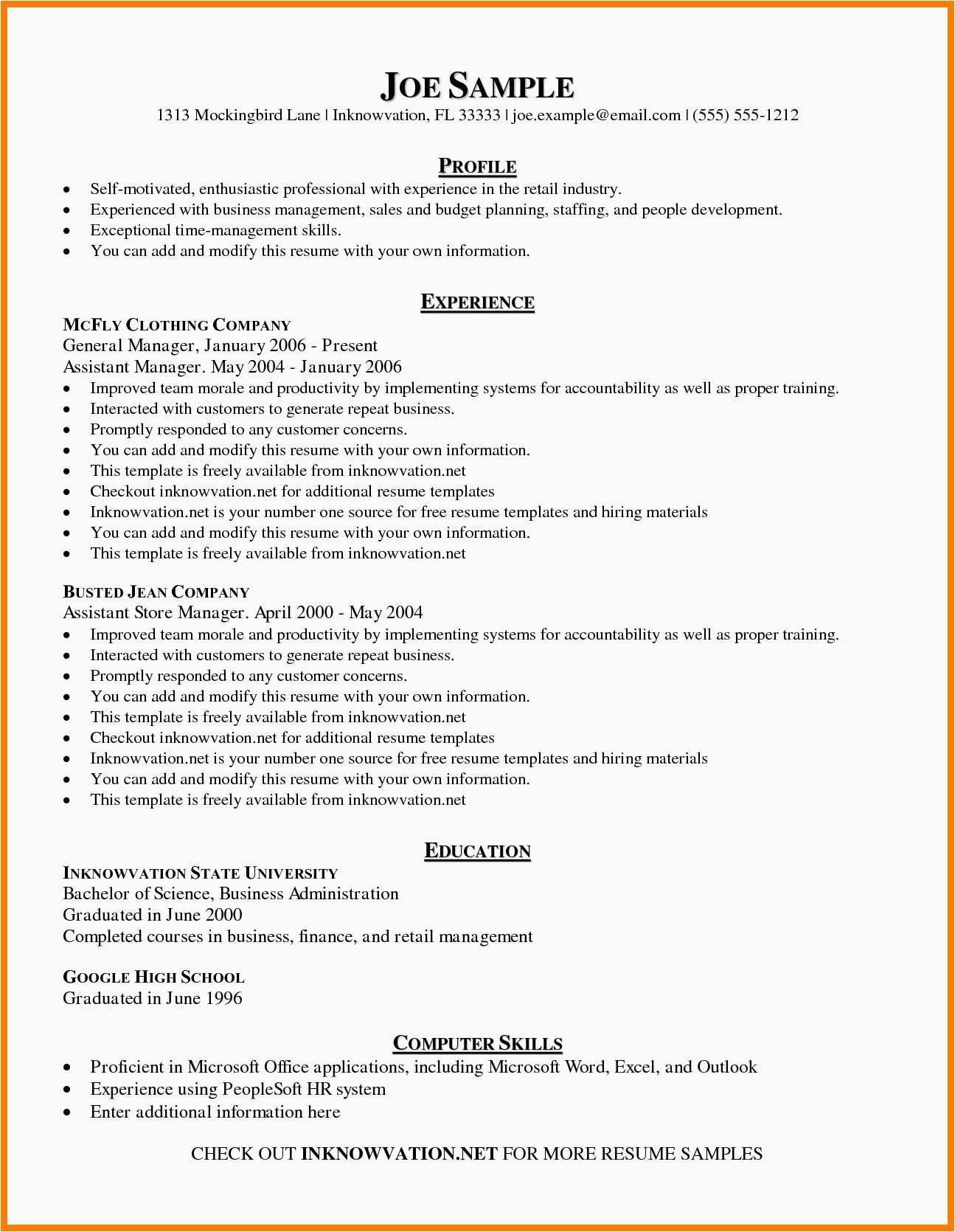 Where To Find A Resume Examples Office Wikiresume Com In 2020 Basic Resume Examples Resume Examples Basic Resume