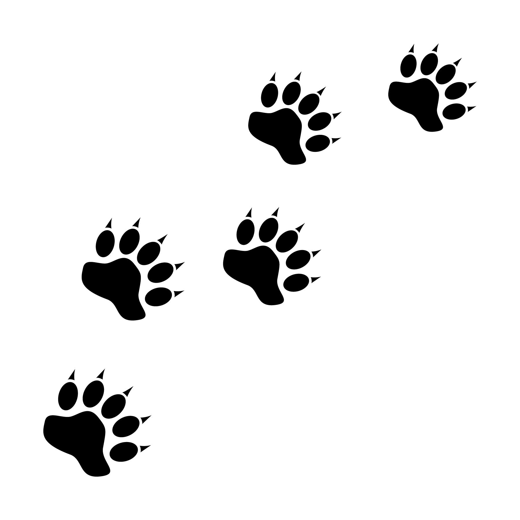Bear Paw Print Icons Jessicabarrondesigns Design Graphicdesign Icon Icondesign Adobeillustrator Ai Footprint Pawprint Bear Artoftheday Vector Vect