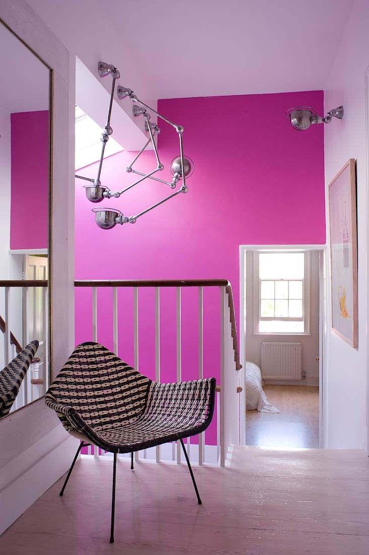Pembe Neon Duvar Boyasi Pink Neon Wall Paint Hot Pink Walls