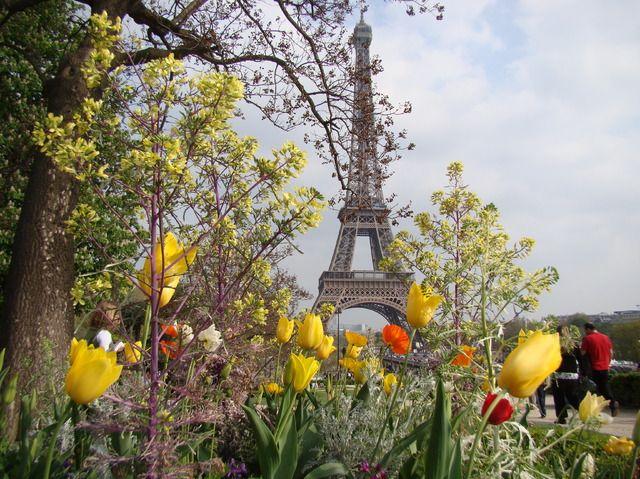 Primavera, Torre Eiffel