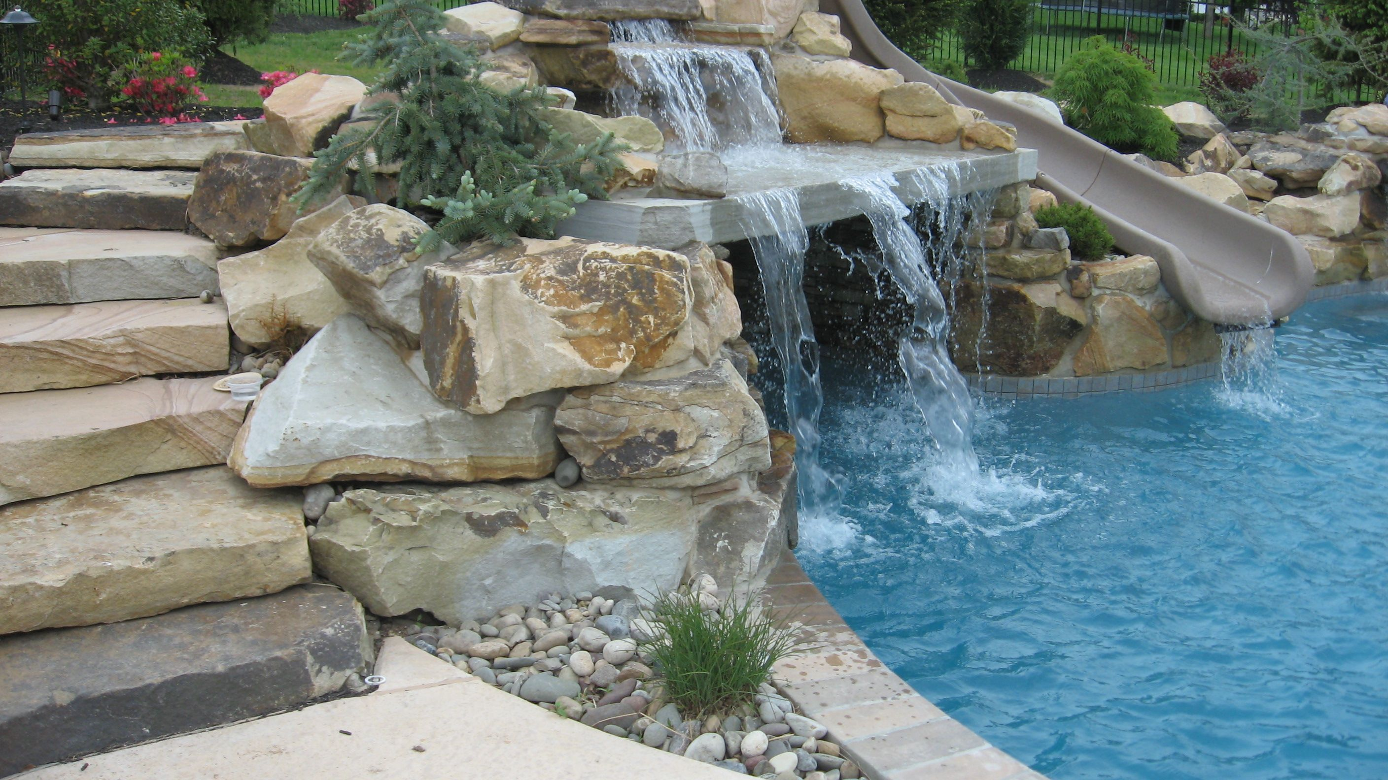 Diy pool landscaping landscape pool for landscaping ideas around diy pool landscaping landscape pool for landscaping ideas around pool and do it yourself solutioingenieria Images